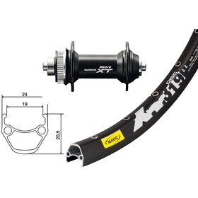 "Mavic Deore XT SSP XM 319 CL Disc 32 huller 27,5"" sort"